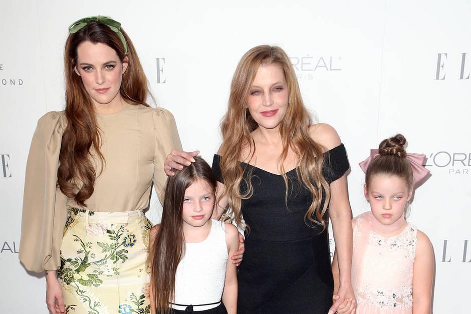 Lisa Marie Presley + Töchter
