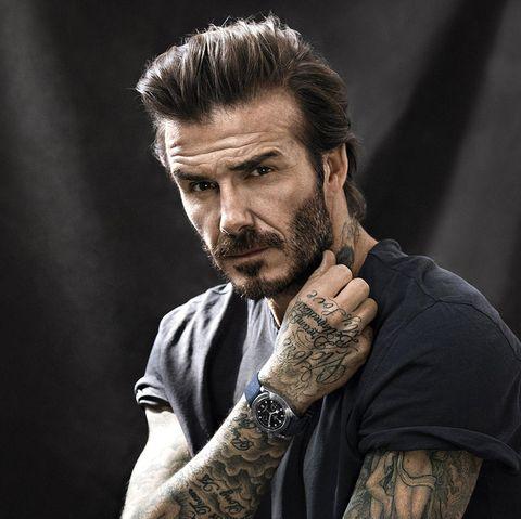 Werbestar: Supersexy posiert David Beckham für die Uhrenmarke Tudor
