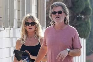 Lieber Gammel als Glamour für Goldie Hawn und Kurt Russell
