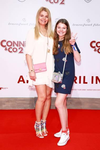 Anne-Sophie Briest mit Tochter Faye Montana