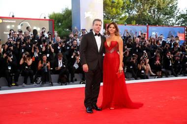 Matt Damon, Luciana Barroso