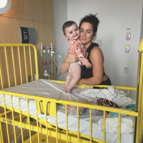 Sophie Cachia und ihre Tochter Florence