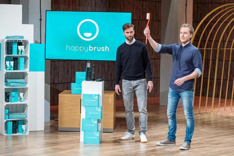 """Florian Kiener und Stefan Walter stellen """"happybrush"""" vor"""