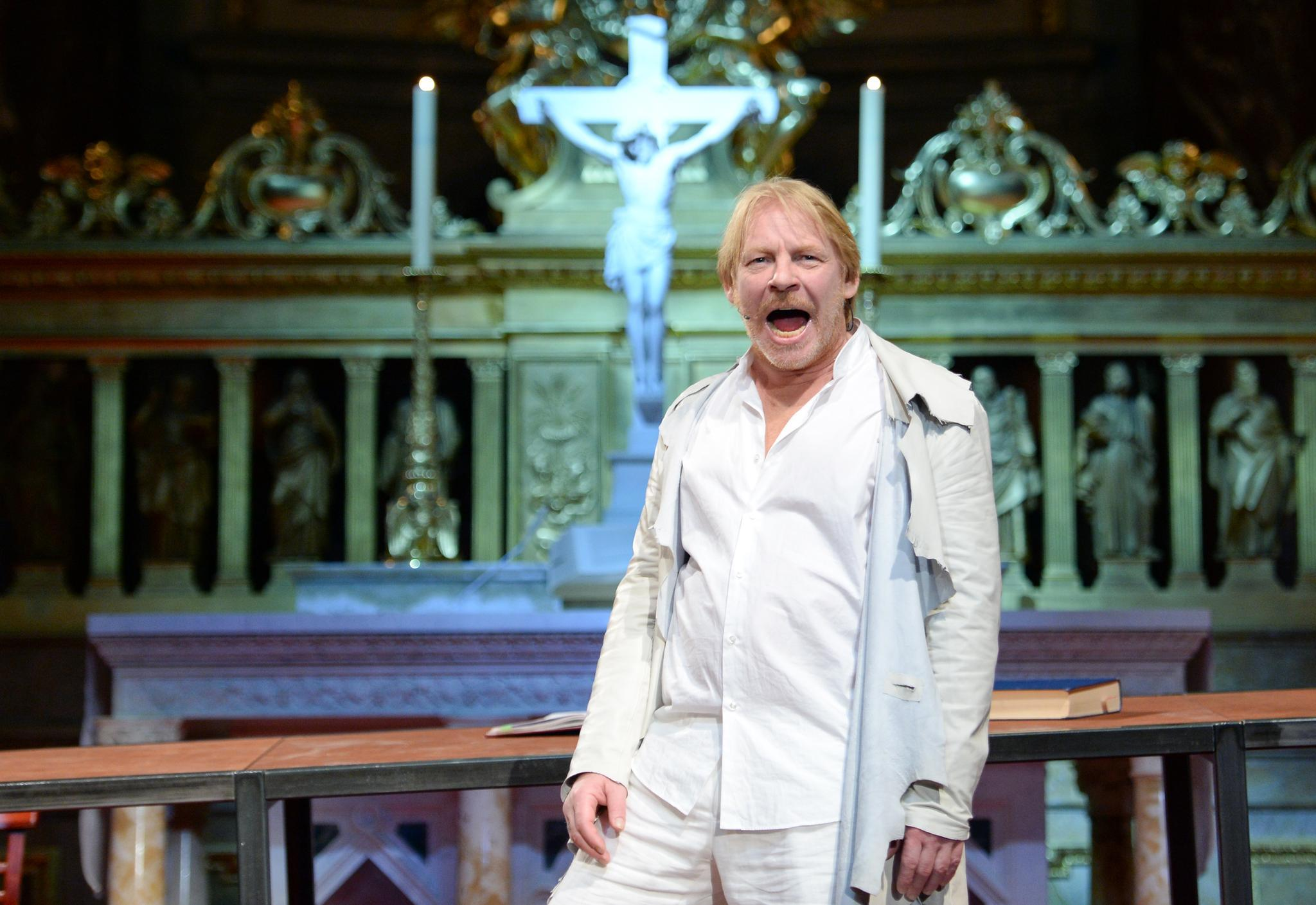 "Ben Becker in ""Ich, Judas"""