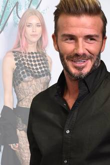 David Beckham, Lady Mary Charteris