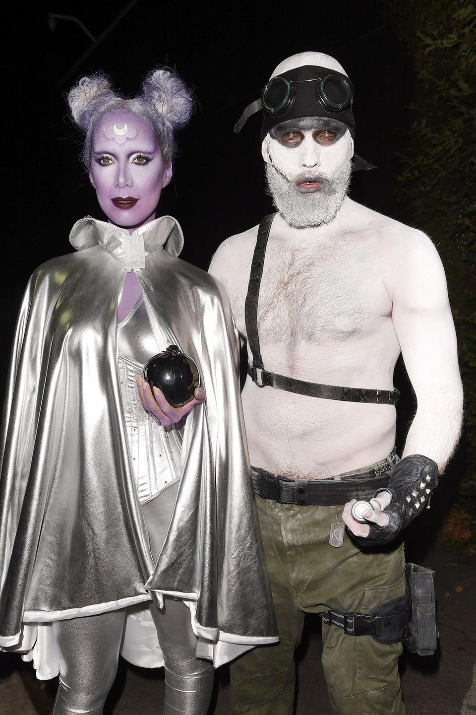 Pop-Sängerin Leona Lewis und ihr Freund Dennis Jauch sehen aus wie von einem anderen Stern.