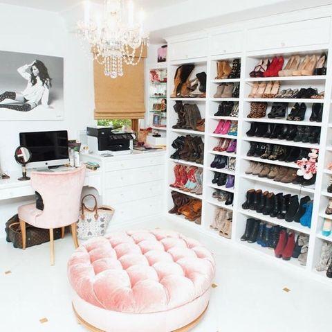 Begehbarer kleiderschrank stars  Fashion: Die Luxus-Kleiderschränke der Stars | GALA.de
