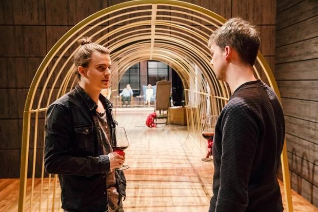 """Die Ruhe vor dem Sturm: Die """"Foodguide""""-Gründer Malte Steiert (links) und Finn Fahrenkrug"""