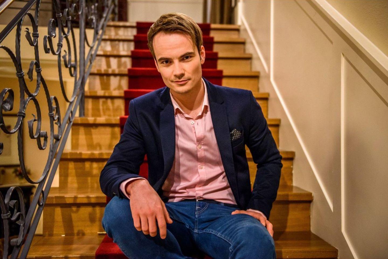 "Michael N. Kühl spielte in ""Sturm der Liebe"" den Sommelier David Hofer"