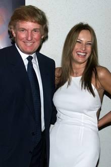 In diesen ersten Jahren mit Donald war von Botox-Starre bei der schönen Melania noch gar keine Rede.