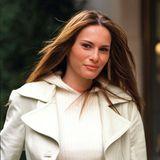 Im Jahr 2000 entstand dieser süße und natürlich schöne Schnappschuss von Melanie Knavs in New York.