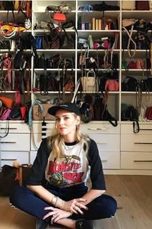 Handtaschen über Handtaschen! Um Platz für Neue zu schaffen, verkauft Bloggerin Chiara Ferragni ihre Designer-Taschen jetzt in einer Shopping-App. Na die hat Probleme!