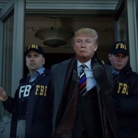 Düstere Aussichten für Donald Trump: Das Federal Bureau of Investigation (FBI) macht ihm den Garaus