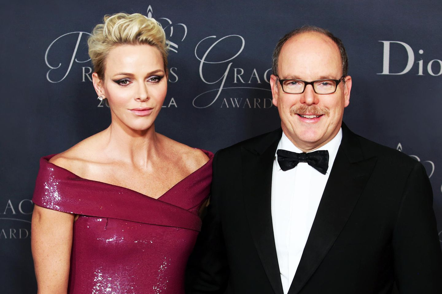 "Charlène und Albert bei der ""Princess Grace Awards""-Gala"