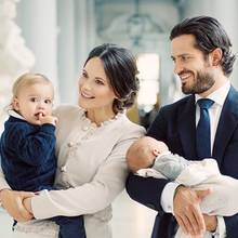 Tauf-Erbstück der schwedischen Royals: Neuer Name aufs alte Taufkleid