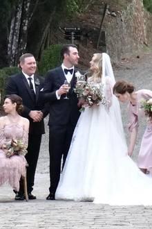 Kate Upton und Justin Verlander bei ihrer Hochzeit