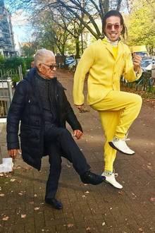 Die Leidenschaft für den Tanz verbindet das coole Vater-Sohn-Duo. Da wird auch mal einfach auf der Straße getanzt und wir erkennen pure Lebensfreude.