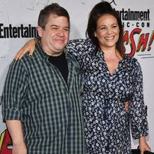 Patton Oswalt + Meredith Salenger