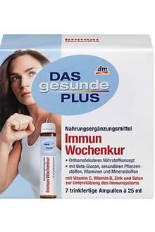 DAS gesunde PLUS Immun Wochenkur