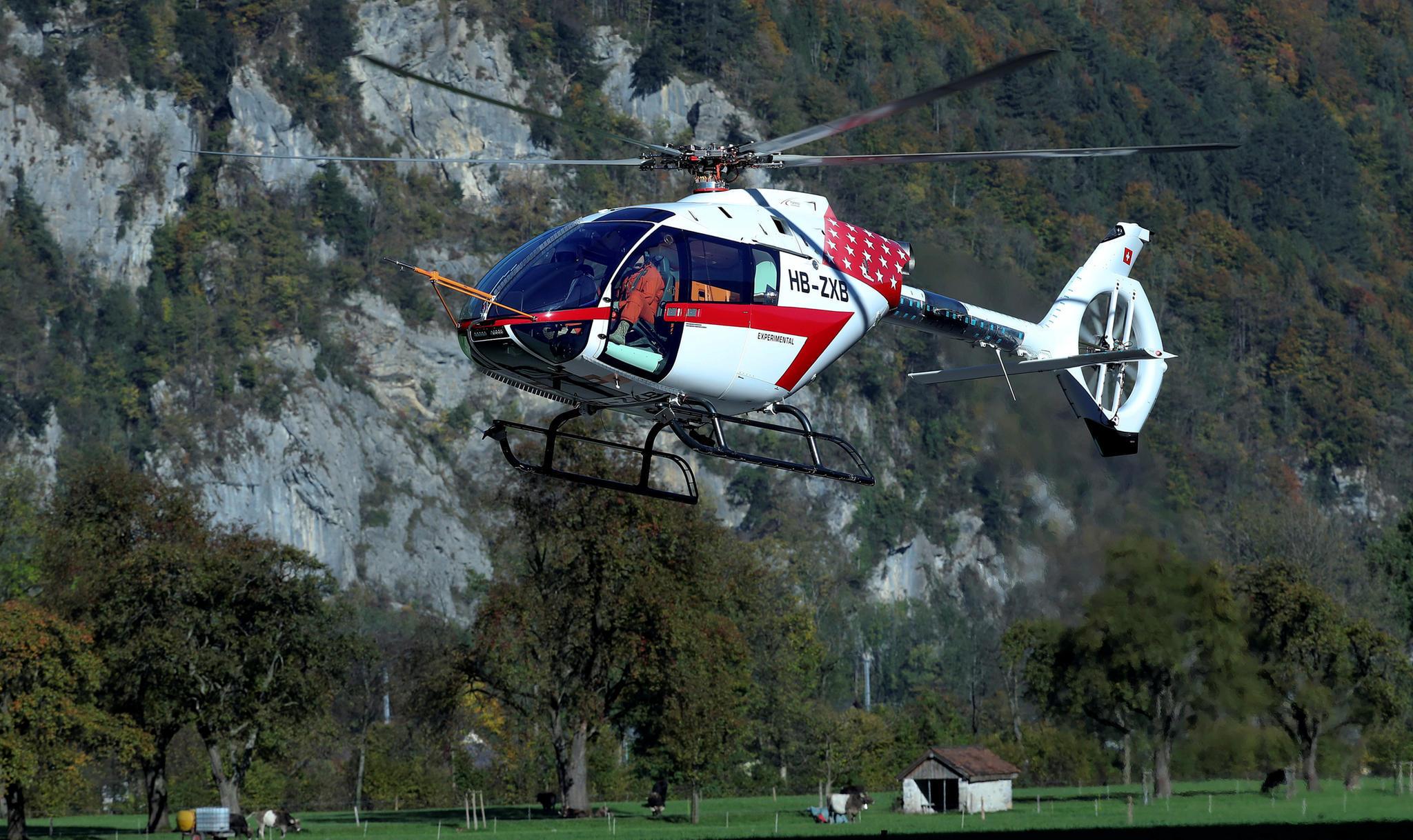 Schlimmer Helikopter-Unfall