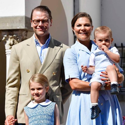 Prinz Daniel, Prinzessin Victoria, Prinzessin Estelle + Prinz Oscar