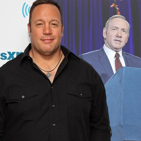 Kevin James, Kevin Spacey