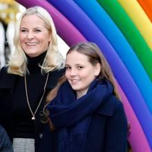 Prinzessin Mette-Marit mit Tochter Ingrid Alexandra