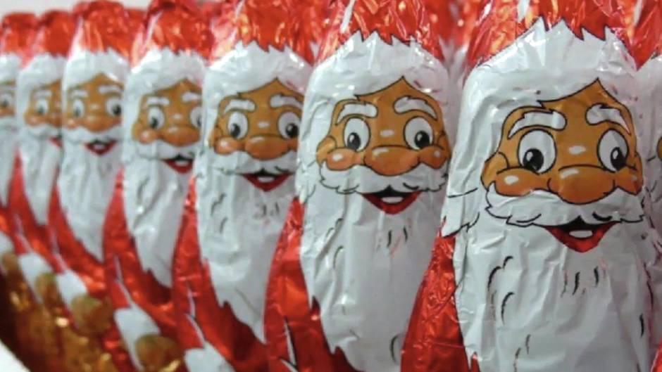Schoko-Weihnachtsmann