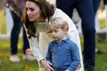 Herzogin Catherine und Prinz George