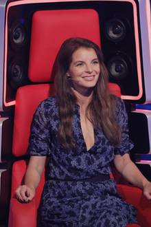 "Yvonne Catterfeld, Coach bei ""The Voice"""