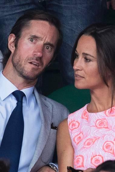 James Matthews und Pippa Middleton fallen bei ihren Nachbarn in Ungnade.