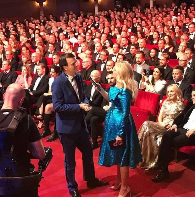 """Barbara Schöneberger moderiert die """"GQ Men Of The Year""""-Preisverleihung und bringt Stimmung nach Berlin."""