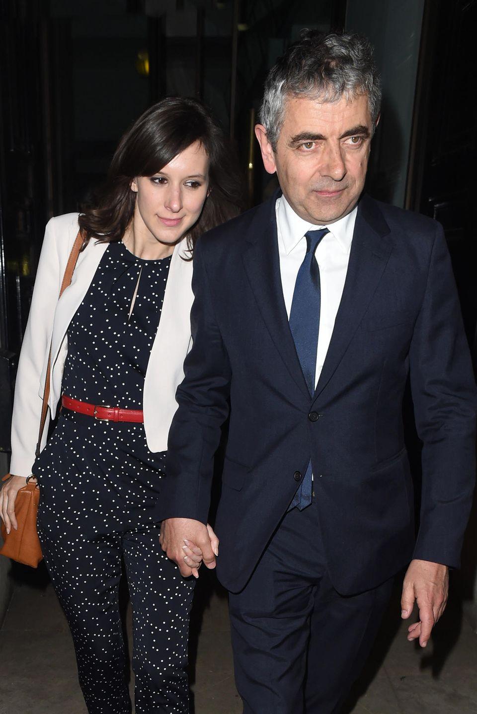 """Louise Ford schenkt """"Mr. Bean"""" Rowan Atkinson sein drittes Kind"""