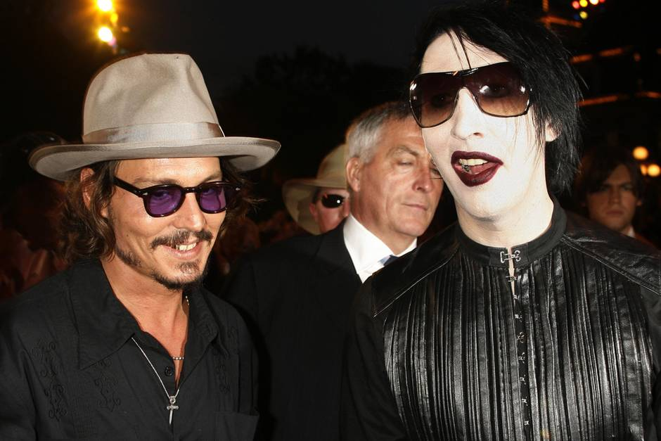 Johnny Depp, Marilyn Manson