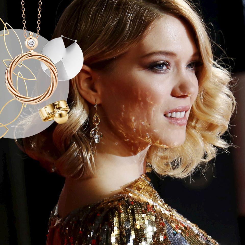 Gold, Diamanten, Edelsteine.Lauter glänzende Schmuckstücke, aber mit welchen glänzen Sie am schönsten?