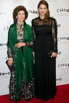 Königin Silvia + Prinzessin Madeleine
