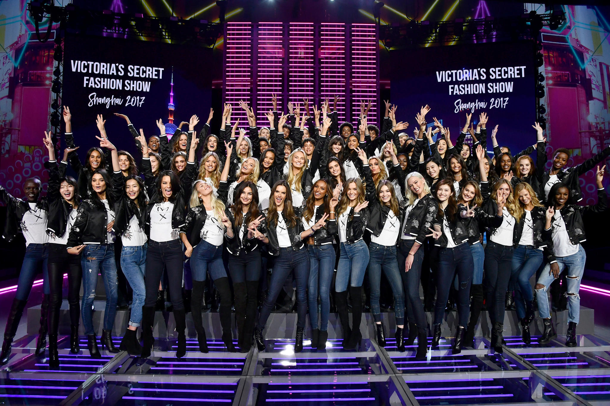 "Die Models der ""Victoria's Secret""-Show 2017 in Shanghai"