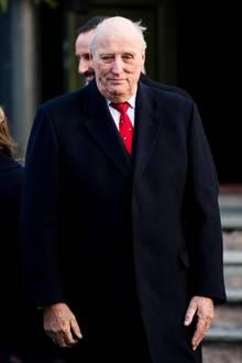 König Harald von Norwegen ist erkrank