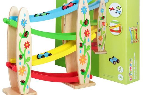 Holz Rollbahn