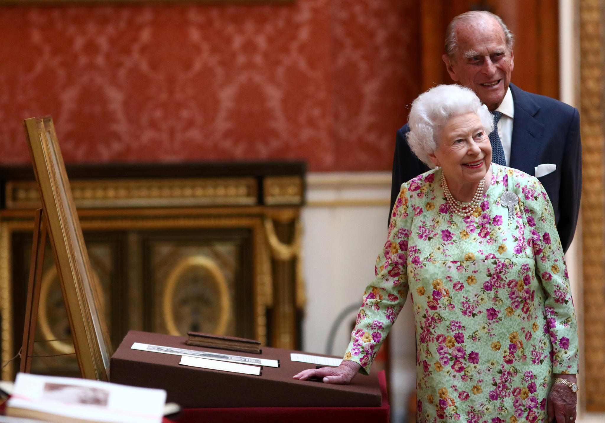 Queen Elizabeth II. und Prinz Philip feiern ihr 70-jähriges Ehejubiläum