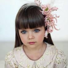 Früh übt sich: Sie wird als schönstes Mädchen der Welt gefeiert