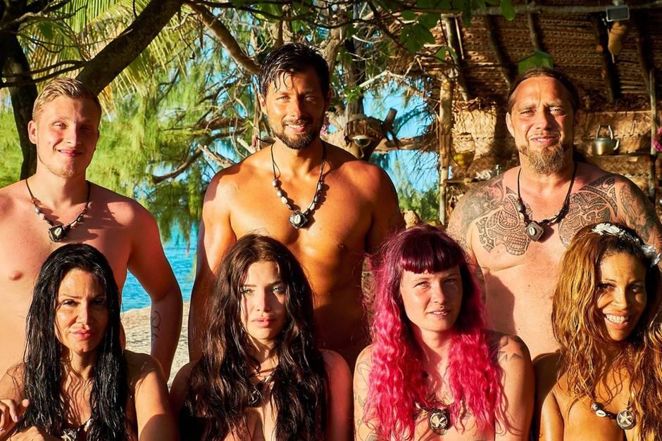 """Diese Kandidaten suchten 2017 bei der RTL-Show """"Adam sucht Eva"""" einen Partner. Einer von ihnen ist abseits der Nackt-Insel fündig geworden."""