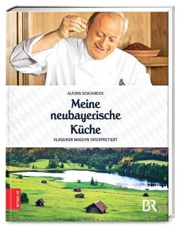 """Zünftig und fesch wird es in Alfons Schuhbecks neuem Werk: Passend zum 100. Geburtstag des Freistaats Bayern serviert der Starkoch Zünftig-Köstliches aus seiner Heimat, garniert mit passenden Namen wie Nudeln mit Ochs alias """"Wer ko, der ko"""" oder Rinderrouladen """"Mia san mia"""". (""""Meine neubayerische Küche"""", Zabert Sandmann, 144 S., 16,99 Euro)"""