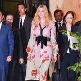 Den exakt gleichen Look zeigte Ivanka Trump bei ihrem Besuch in Japan.