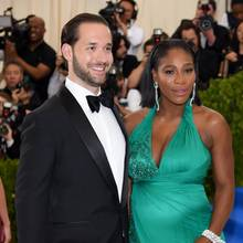 Alexis Ohanian + Serena Williams