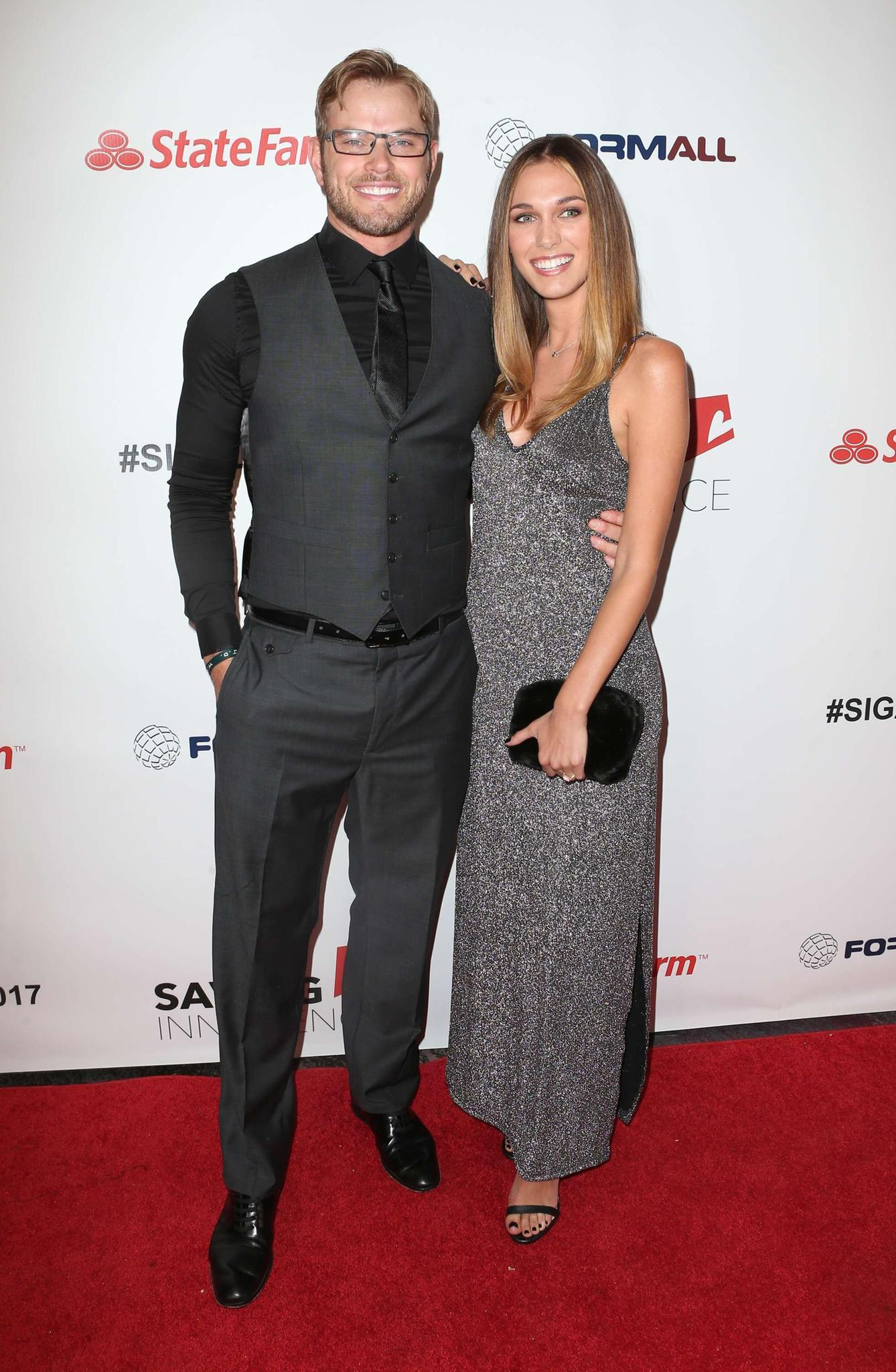 Kellan Lutz und Brittany Lutz