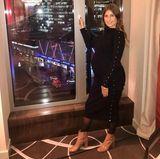 """""""Ich fühle mich nicht danach nicht mehr auszugehen"""" schreibt Cathy Hummels zu diesem Instagram-Posting. Die werdende Mutter reist aktuell von Event zu Event und präsentiert stolz in engen Kleidern ihre wachsende Babykugel."""