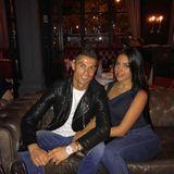 25. November 2017  Ein toller Abend mit toller Begleitung: Cristiano Ronaldo und Freundin Georgina Rodriguez genießen ihr Date.
