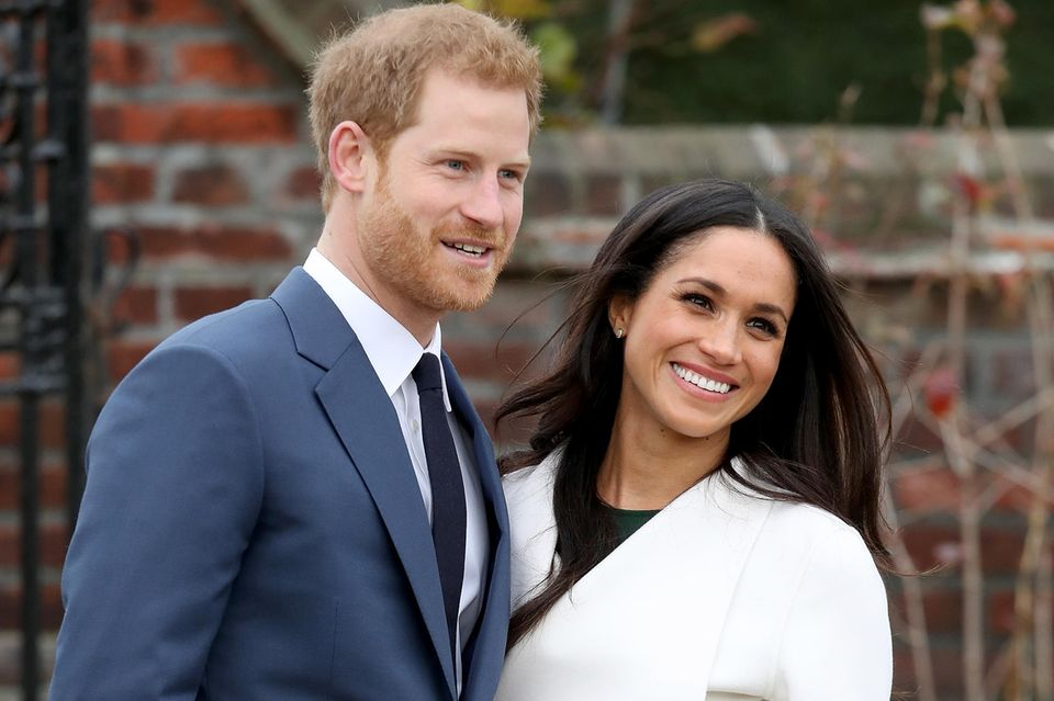 Frisch verlobt: Meghan Markle + Prinz Harry