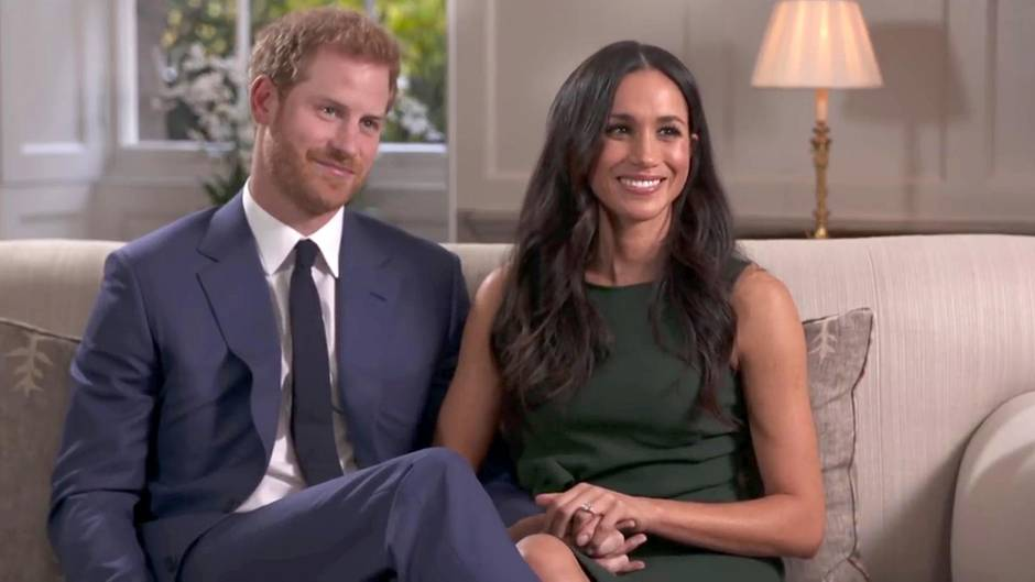 Prinz Harry + Meghan Markle : Das Verlobungsinterview in fast voller Länge